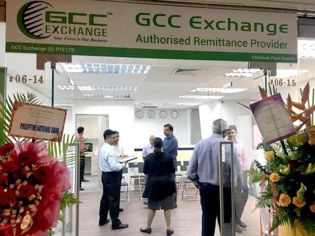 GCC Exchange - Peninsula Plaza (Remittance Service)