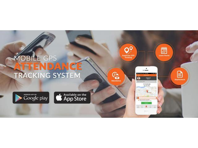 Mobile GPS Attendance Tracking  System
