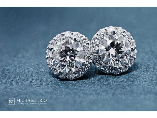 Michael Trio - Diamond Earrings