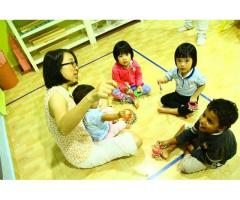 Christian Montessori Singapore | Playgroup Singapore